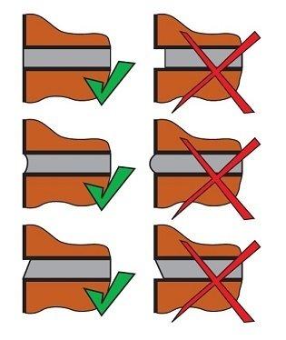 Как сделать белый шов при кладке
